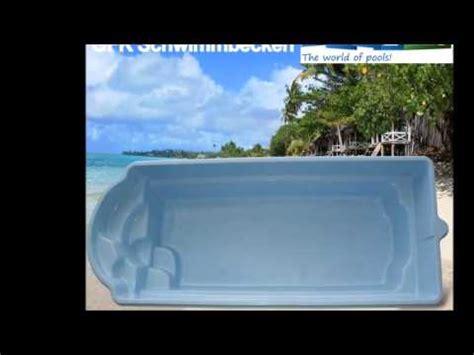 pool wanne gfk schwimmbecken bei pool123 de pools aus polen zu