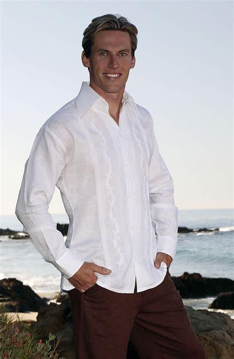 beach wedding guest attire men canali custom italian linen shirts wedding tropics