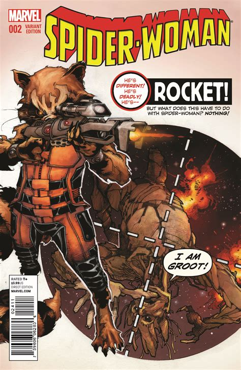 beauxknows top 5 comic books of 2014 special unannounced final rocket raccoon groot variant