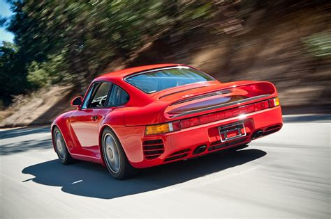 80s porsche 959 the luxuriest moment top 10 porsche model all the time 4