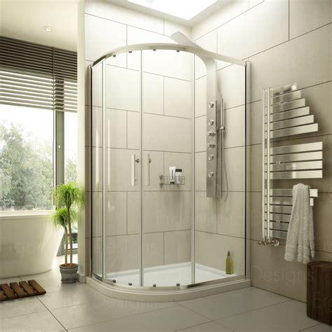 Offset Corner Shower Bath 1200 x 900 offset quadrant corner shower enclosure cubicle