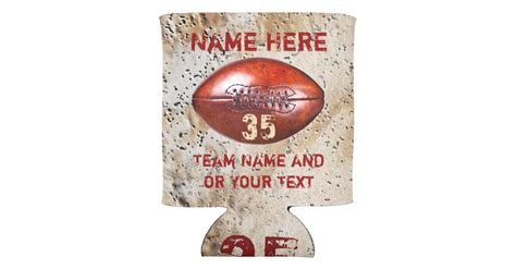 cheap football gifts for players personalized can cooler