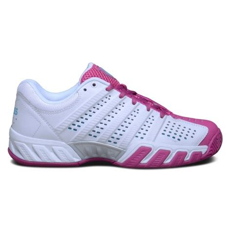 k swiss bigshot light womens tennis shoes white pink