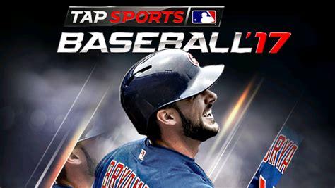 mod apk game sport mlb tap sports baseball 2017 v 1 0 1 mod apk with