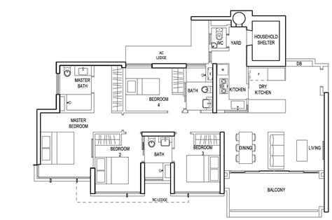 sanctuary 134 4 bedroom transportable home house plans the terrace ec floor plan 4 bedroom premium d 134