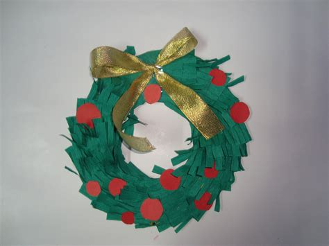 christmas wreath kids crafts activities kids crafts