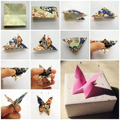 Creativity For Awesome Origami - how to make an origami butterfly 187 cool creativity papel