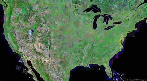 map of te united states united states map and satellite image