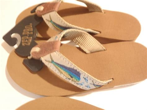 zep pro flip flops for choose dolphin blue marlin sailfish ebay