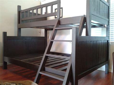 Tempat Tidur Kayu Single tempat tidur tingkat kayu jati coklat hitam jayafurni