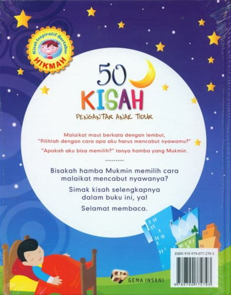 50 Pengantar Tidur Cover Color Glossy Paper bukukita 50 kisah pengantar anak tidur edisi baru