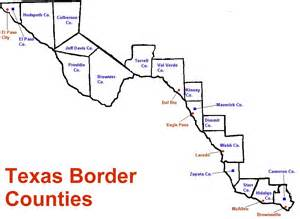 map of border map of border