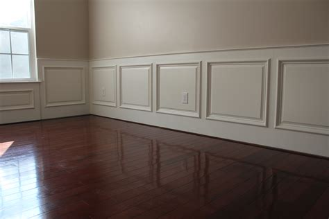 dining room with wainscoting our home from scratch