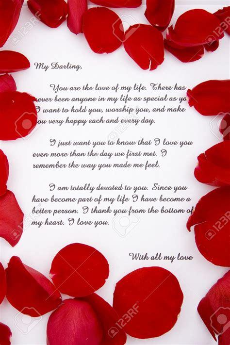 Modeles De Lettre D Amour Romantique lettre amoureux romantique mod 232 le de lettre