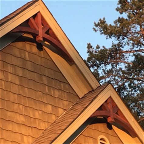 decorative gable trim iron decorative cedar gable brackets