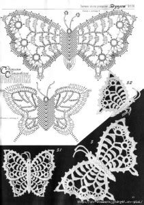 A collection of patterns - Irish lace: motives