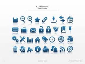 powerpoint icons simple