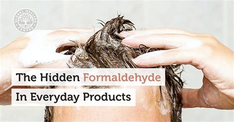 Formaldehyde Detox Supplements by The Formaldehyde In Everyday Products