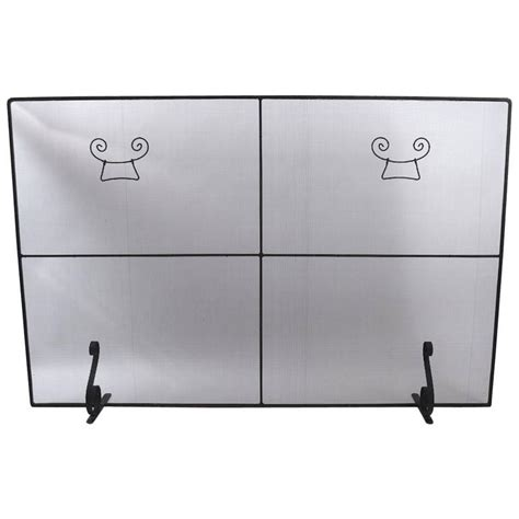large fireplace screen large fireplace screen spark guard for sale at 1stdibs