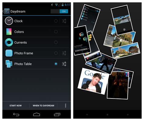 what is daydream android android world nov 24 2012