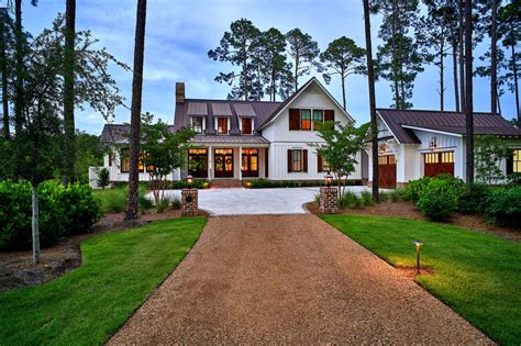farmhouse style home exquisite south carolina farmhouse evoking a low country style