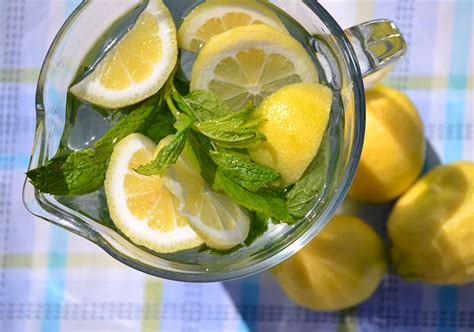 Detox Water Meaning In Tamil by Lemon And Mint Drink