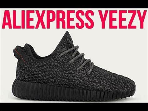 aliexpress adidas yeezy 350 boost pirate black replica 40
