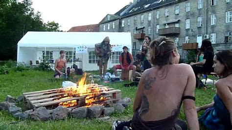 Copenhagen To Queue For Shortcut 7 by Live Performance In Christiania Copenhagen Denmark