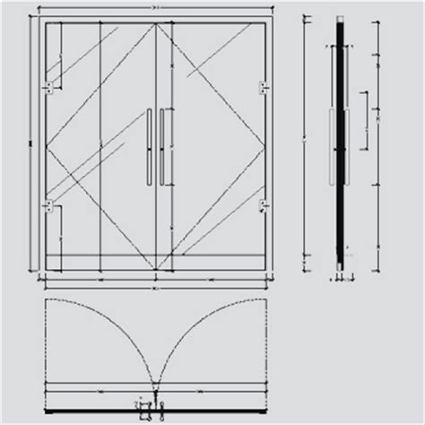 Archibit Generation S R L Cad Library Details Glass Glass Door Detail
