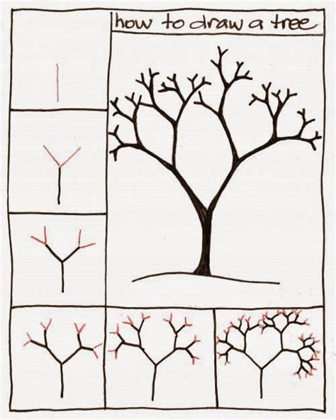 how to draw a doodle tree how to draw a tree step by step for learn to draw