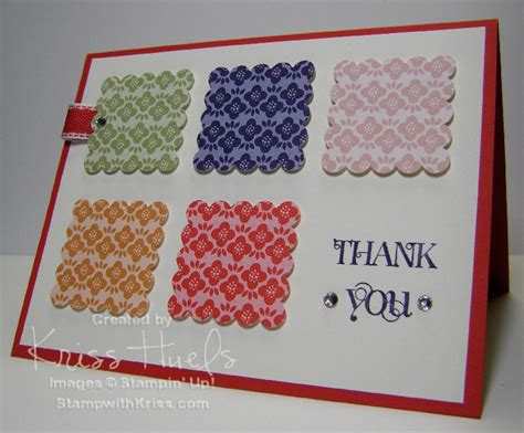 Easy Handmade Thank You Cards - stwithkriss 187 and easy handmade cards