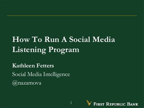 how to run maxbounty caigns on social media best method 2017 how to run a social media listening program presented by