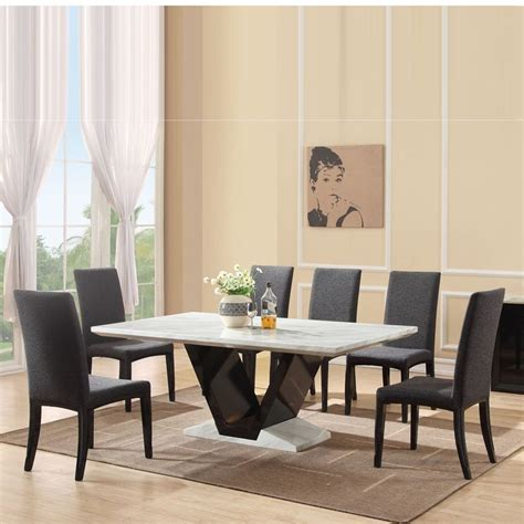 granite dining table 8 chairs best 25 marble dining tables ideas on marble