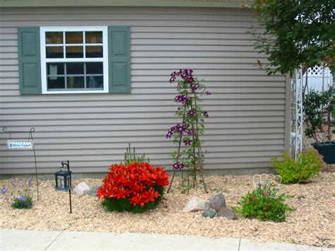 yard design for mobile home landscaping ideas for mobile homes mobile manufactured home living