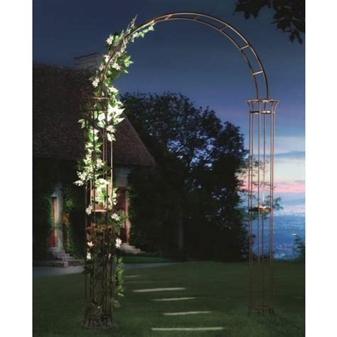 Garden Arch With Lights Metal Garden Arch With Solar Light Style Buy