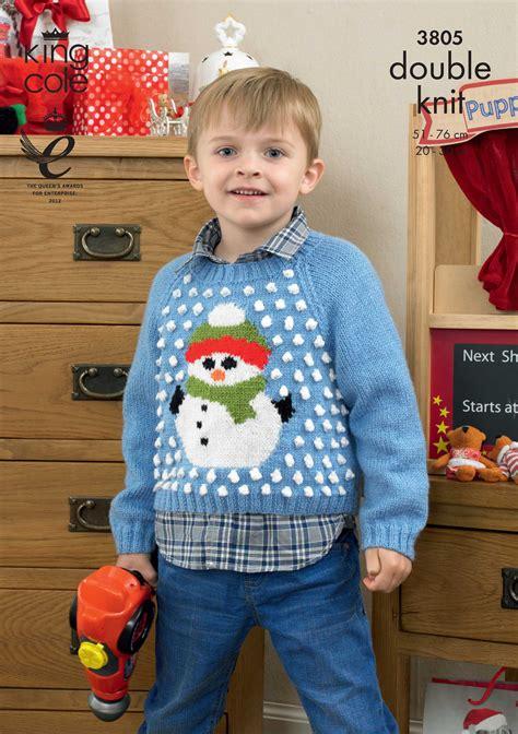 Jumper Motif Jangkar For Baby children s snowman jumper knitting pattern sweater