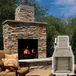 best 25 outdoor fireplace kits ideas on diy