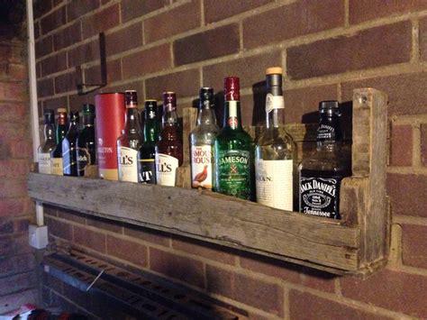 cave shelves whiskey shelf for mancave mancave shelves