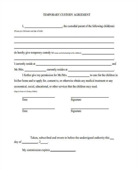 voluntary child support agreement letter livecareer