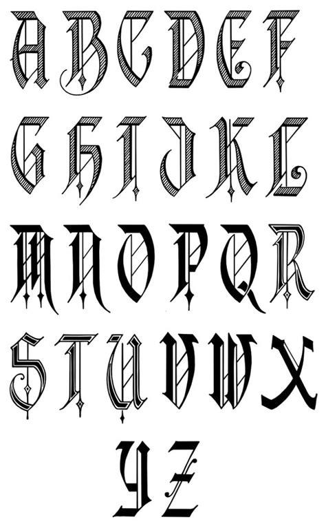 a to z alphabet stylish letter 17 best ideas about font