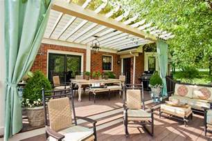 Outdoor Curtains For Pergola Deck With Pergola And Outdoor Curtains