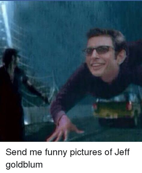 Jeff Goldblum Meme - send me funny pictures of jeff goldblum meme on me me