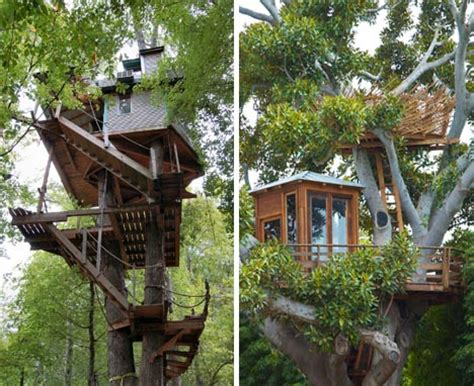 custom tree house plans diy ideas building designs