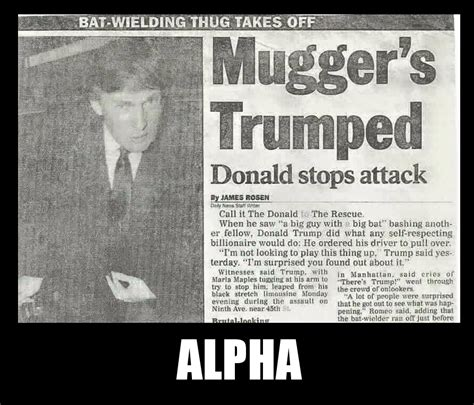 Alpha Meme - alpha male donald trump know your meme