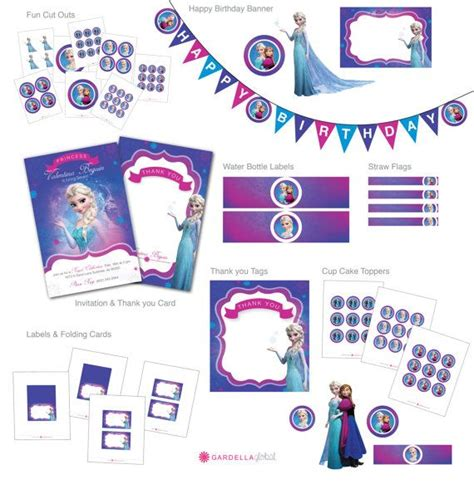 themes line frozen 219 best frozen birthday party images on pinterest petit