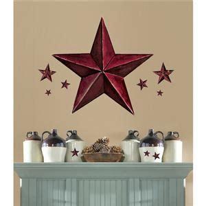 Burgundy Kitchen Decor new burgundy barn wall decals country kitchen