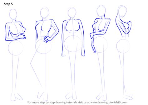 Drawing Bodies by Learn How To Draw Anime Step By Step
