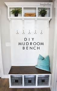 Mudroom Locker Plans Diy by Diy Mudroom Bench Part 2 Honeybear Lane