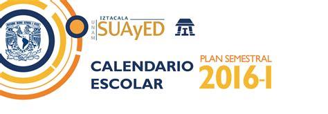 Calendario Escolar Unam 2015 1 Calendario Escolar 2016 1 Iztacala En