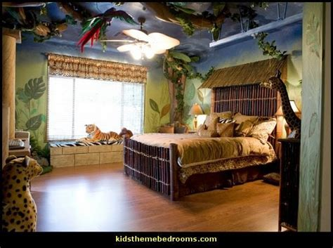 safari bedroom decor decorating theme bedrooms maries manor jungle theme